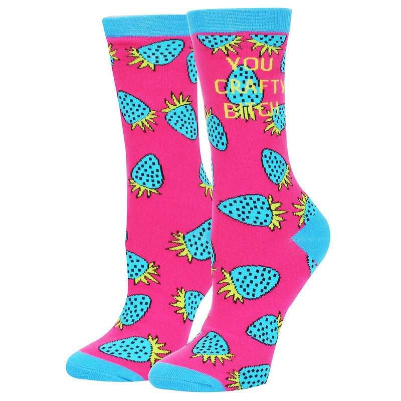 Swear Words Strawberry Socks