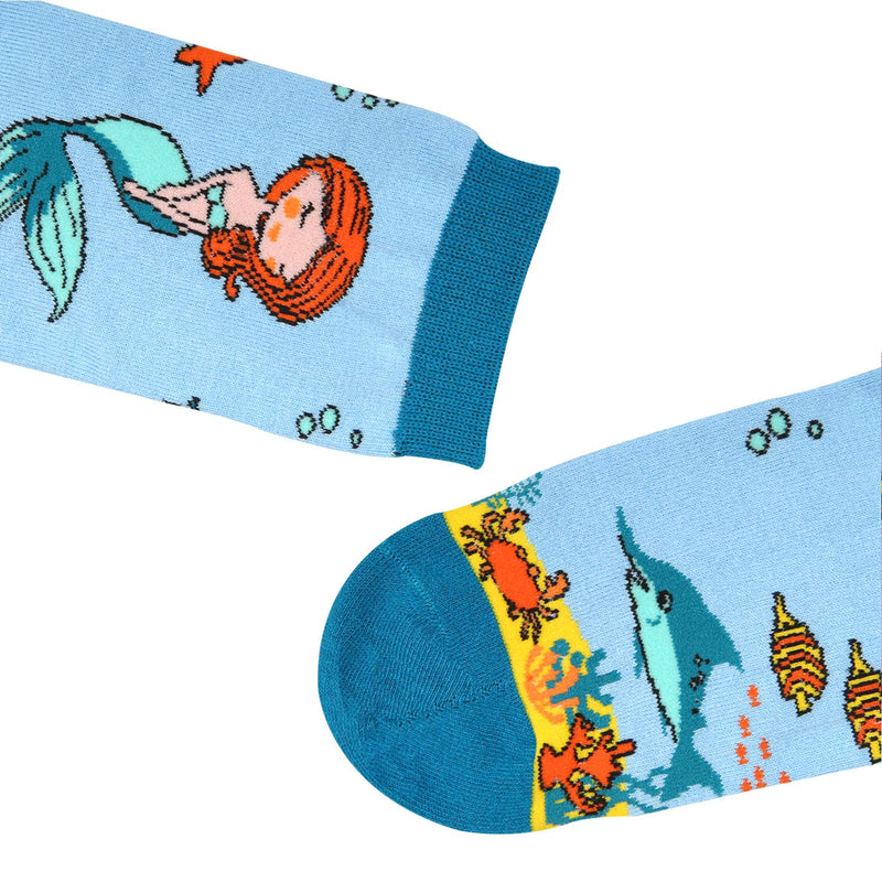 Mermaid Fish Socks - Happypop