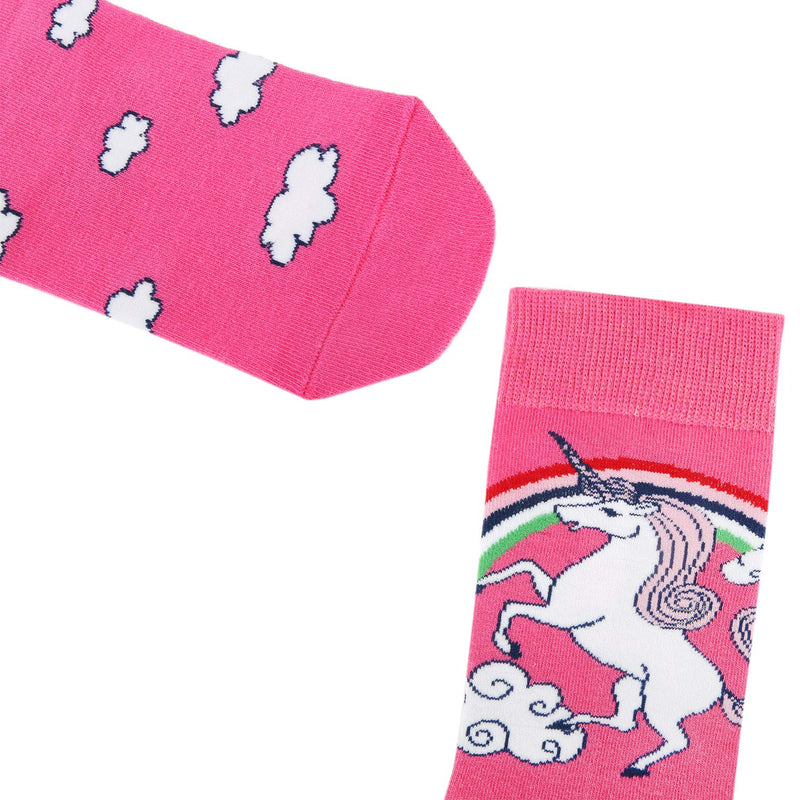 Girls Unicorn Socks Gift Box - Happypop