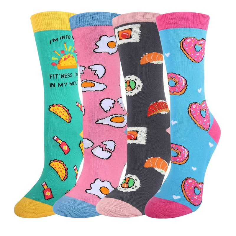 Fun Food Socks Gift Box - Happypop
