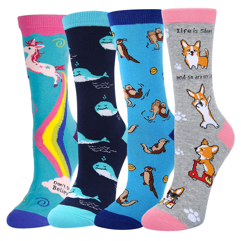 Cute Animal Socks Gift Box
