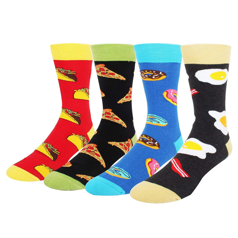 Pizza Beer Food Socks