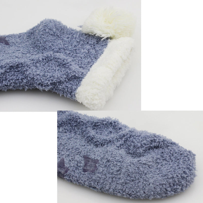 Fluffy Fuzzy Anti-Slip Socks - Happypop