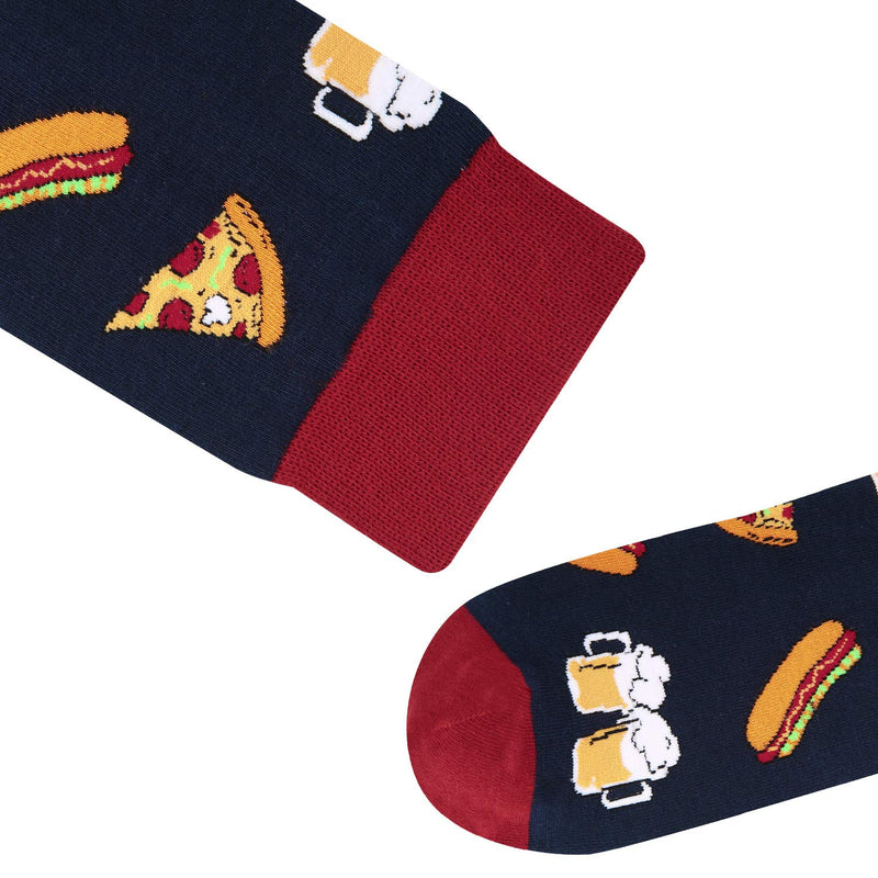 Pizza Beer Food Socks - Happypop
