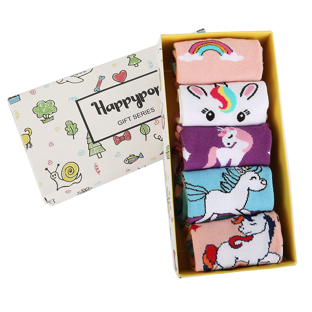 Girls Kids Socks Series - Happypop