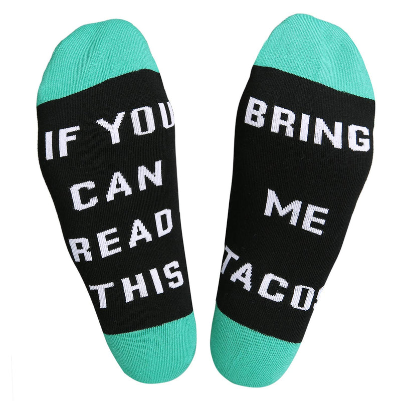 Saying Taco Socks - Happypop