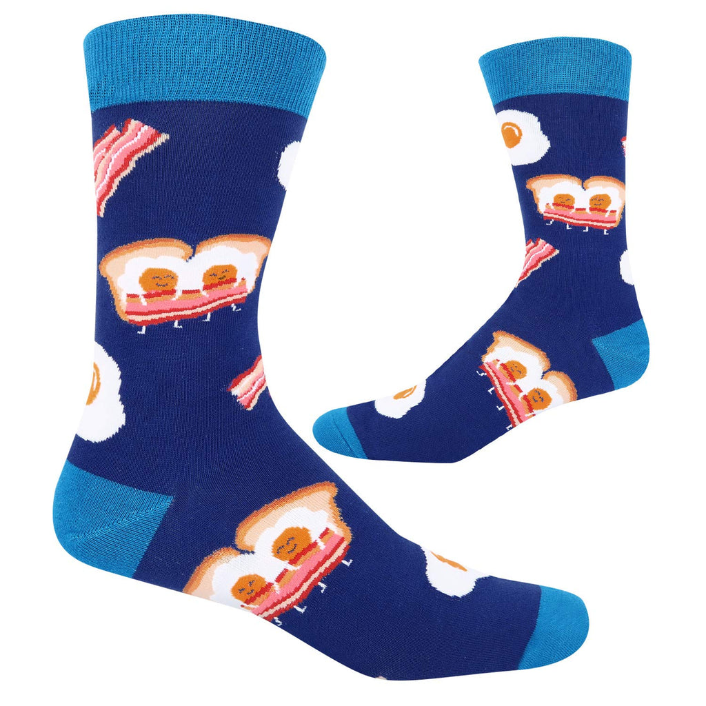 Bacon Egg Food Socks - Happypop