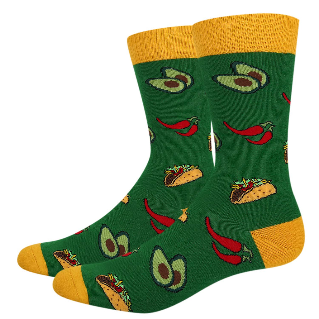 Taco Chili Food Socks - Happypop