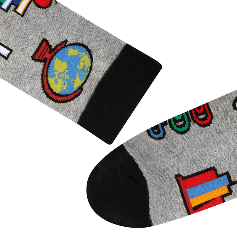 School Science Socks - Happypop