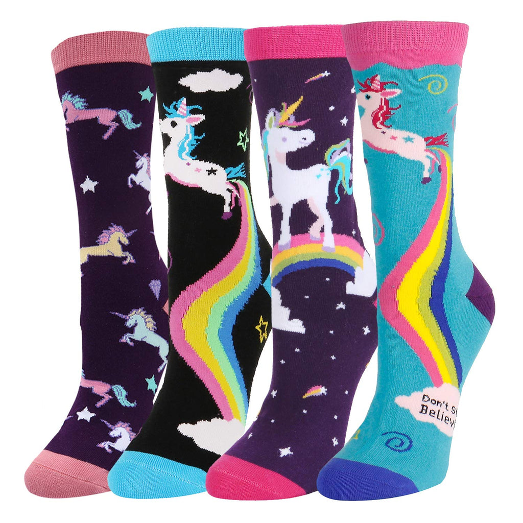 Gorgeous Unicorn Socks Gift Box - Happypop