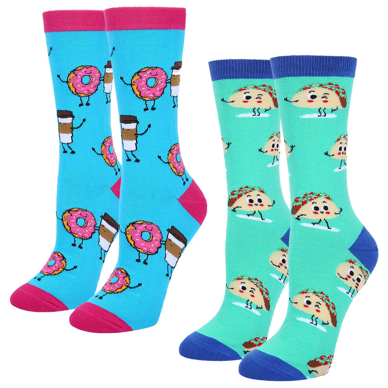 Unicorn Donut Socks