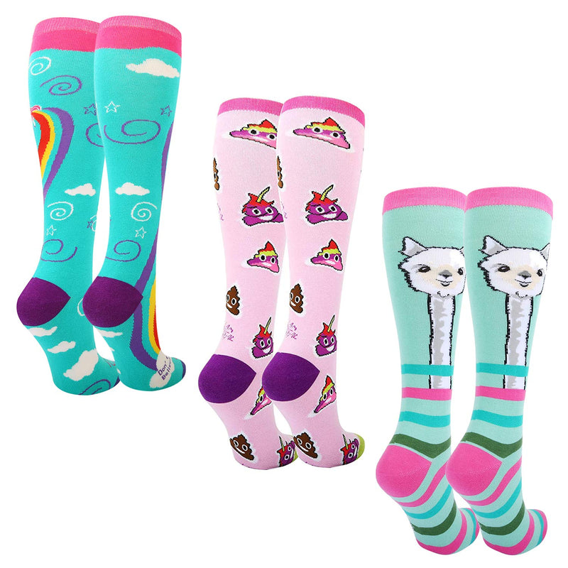 Poop Unicorn Alpaca Socks Gift Box - Happypop