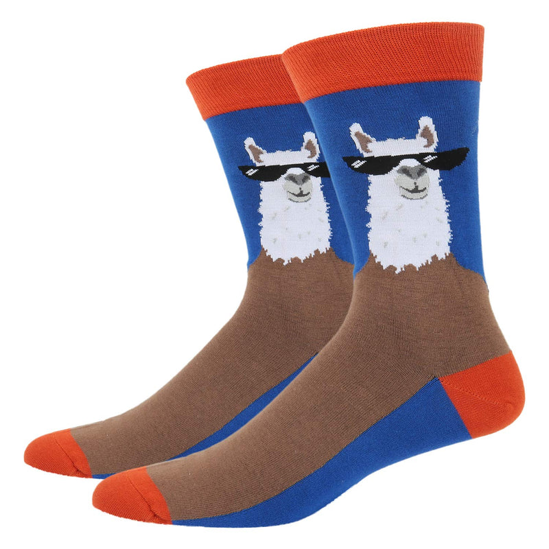 Llama Glasses Socks - Happypop