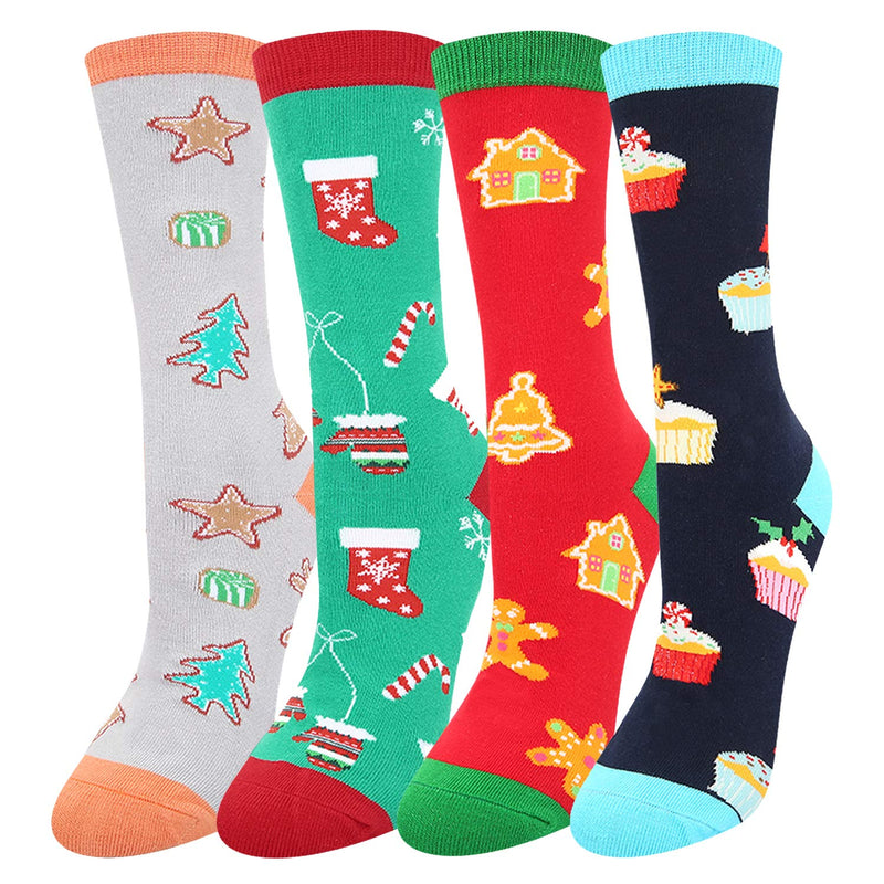 Christmas Gingerbread Socks