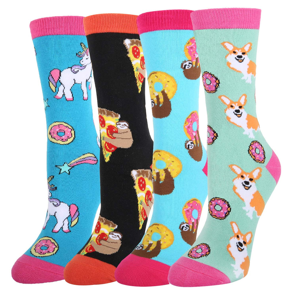 Animal Food Socks Gift Box