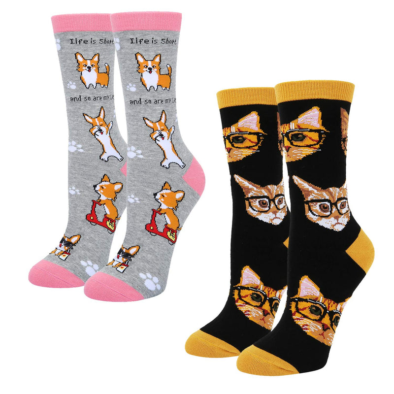 Corgi Socks Series
