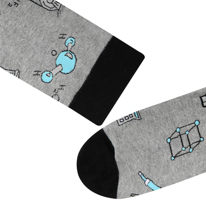 Grey Biology Socks - Happypop