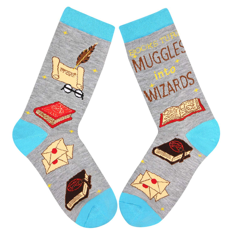 Magic Book Socks - Happypop