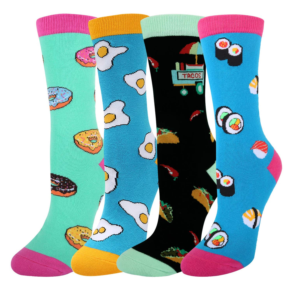 Fast Food Socks Gift Box