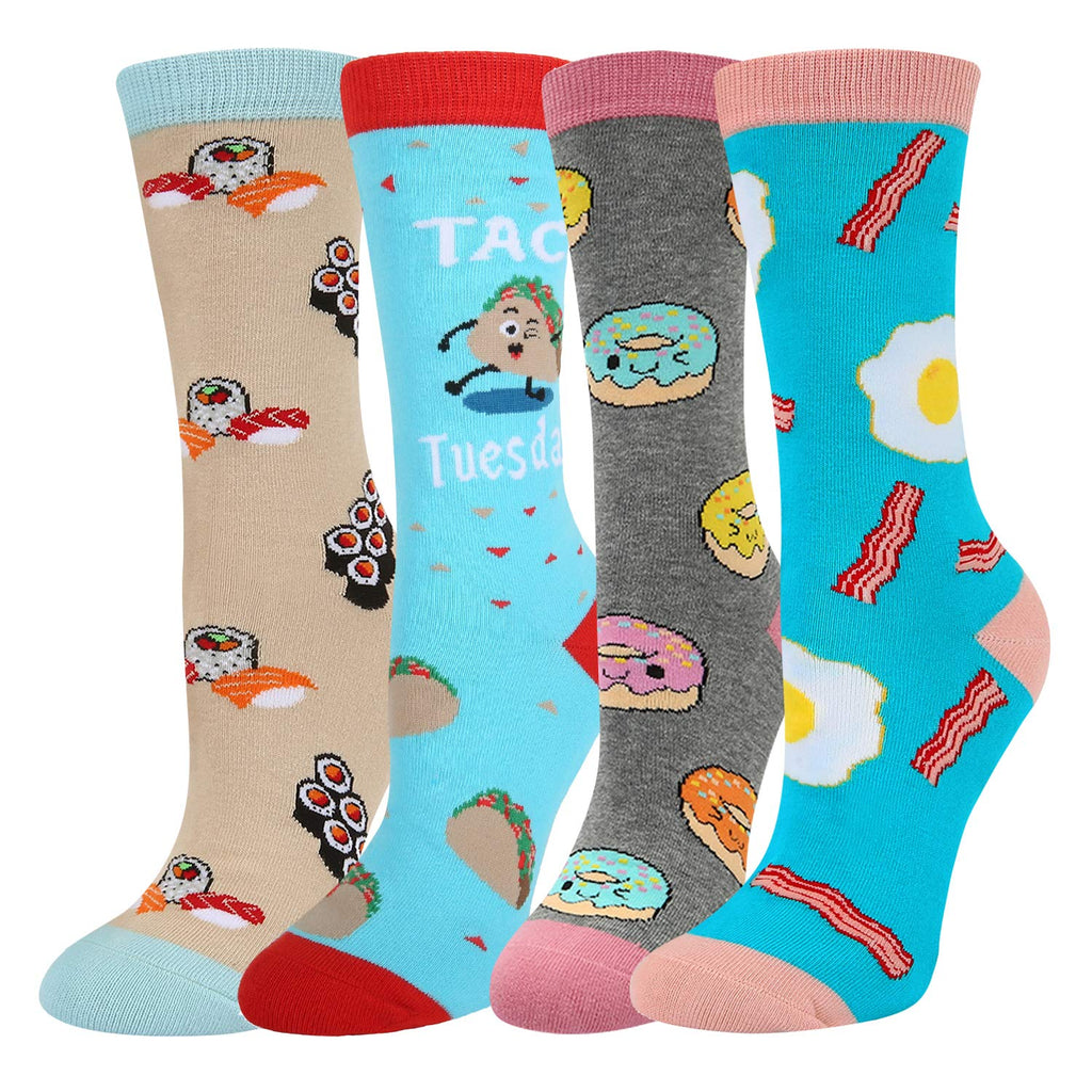 Emoji Food Socks Gift Box - Happypop