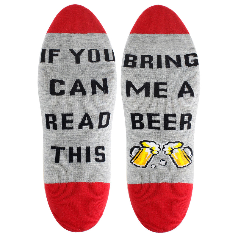 Saying Red Beer Ankle Socks - Happypop