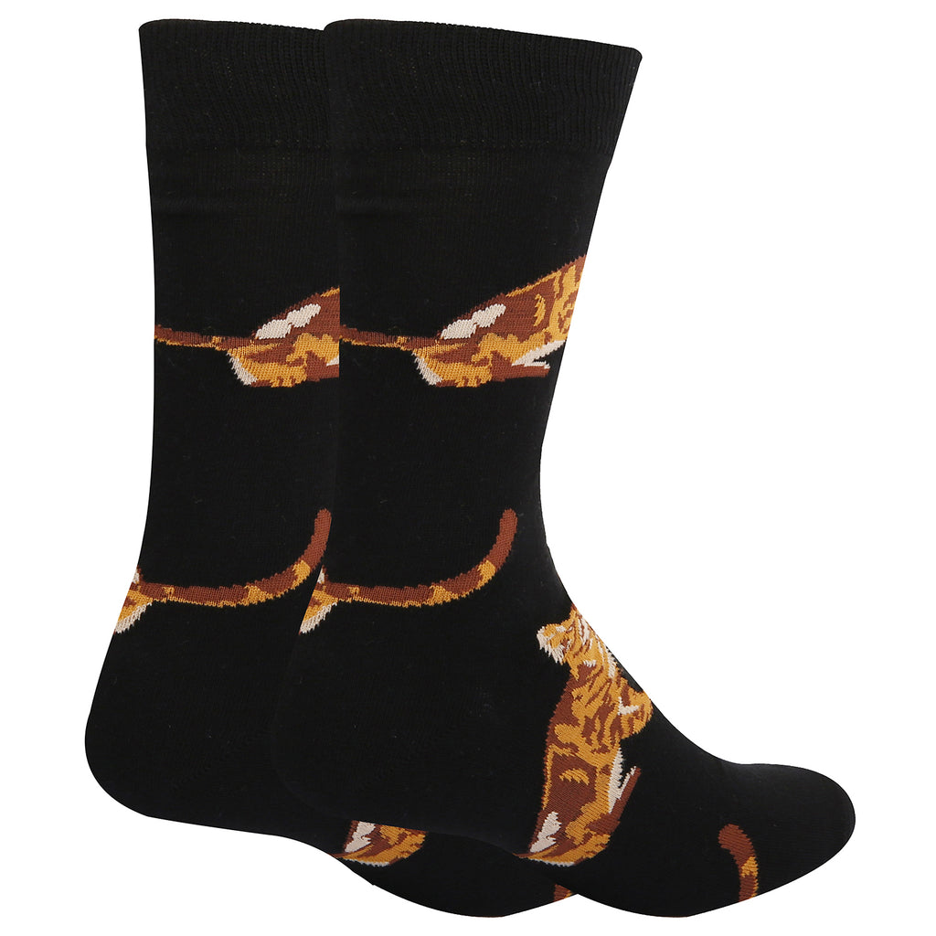 Brown Cat Socks - Happypop
