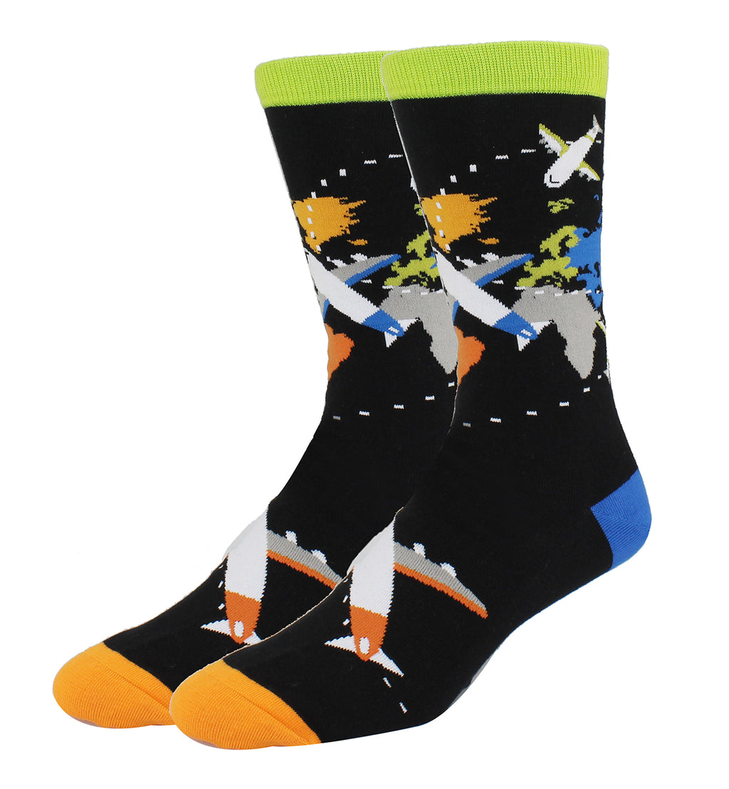 Map Socks - Happypop