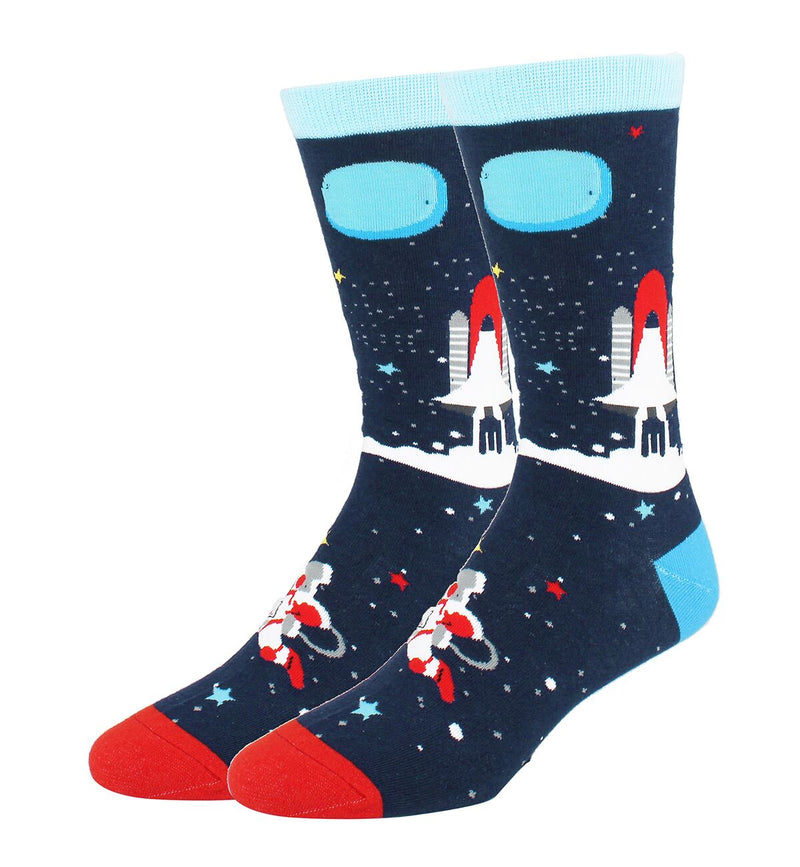 Lightblue UFO Socks