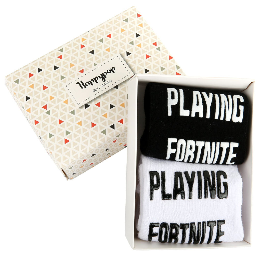 Fortnite Game Socks Gift Box - Happypop