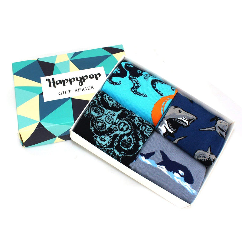 Sea Creature Socks Gift Box - Happypop