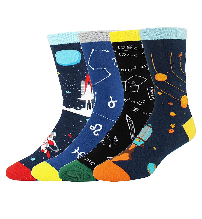 Science Rocket Socks Gift Box