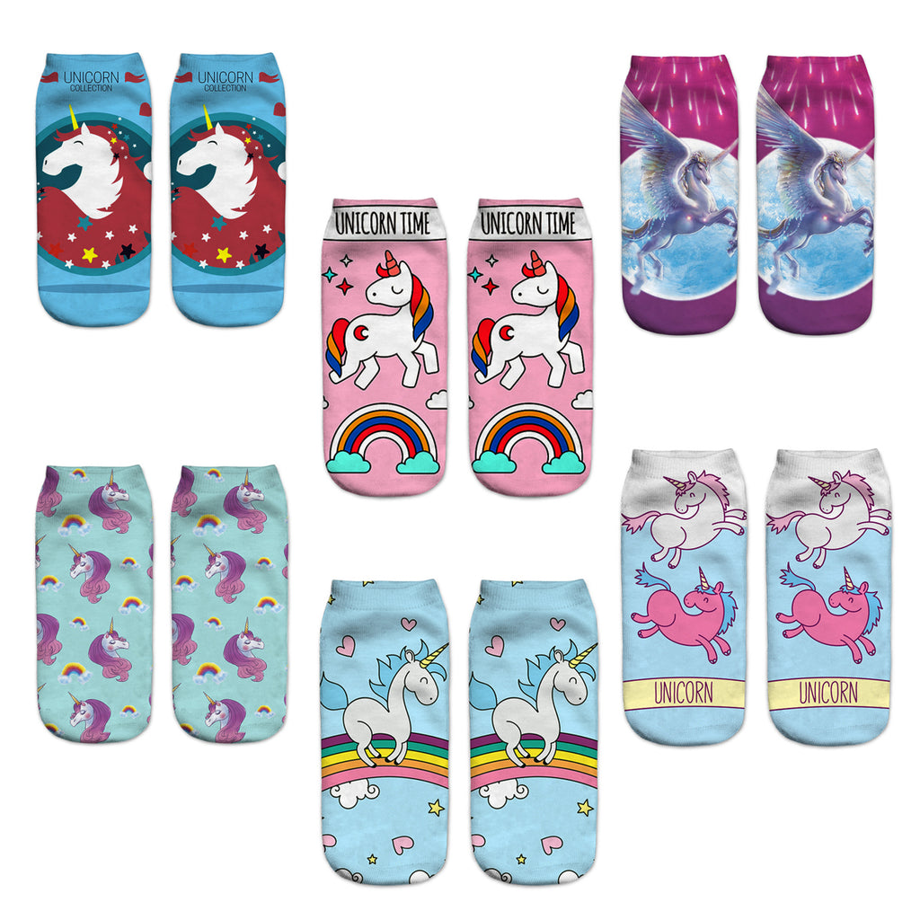 Kids Unicorn Socks - Happypop