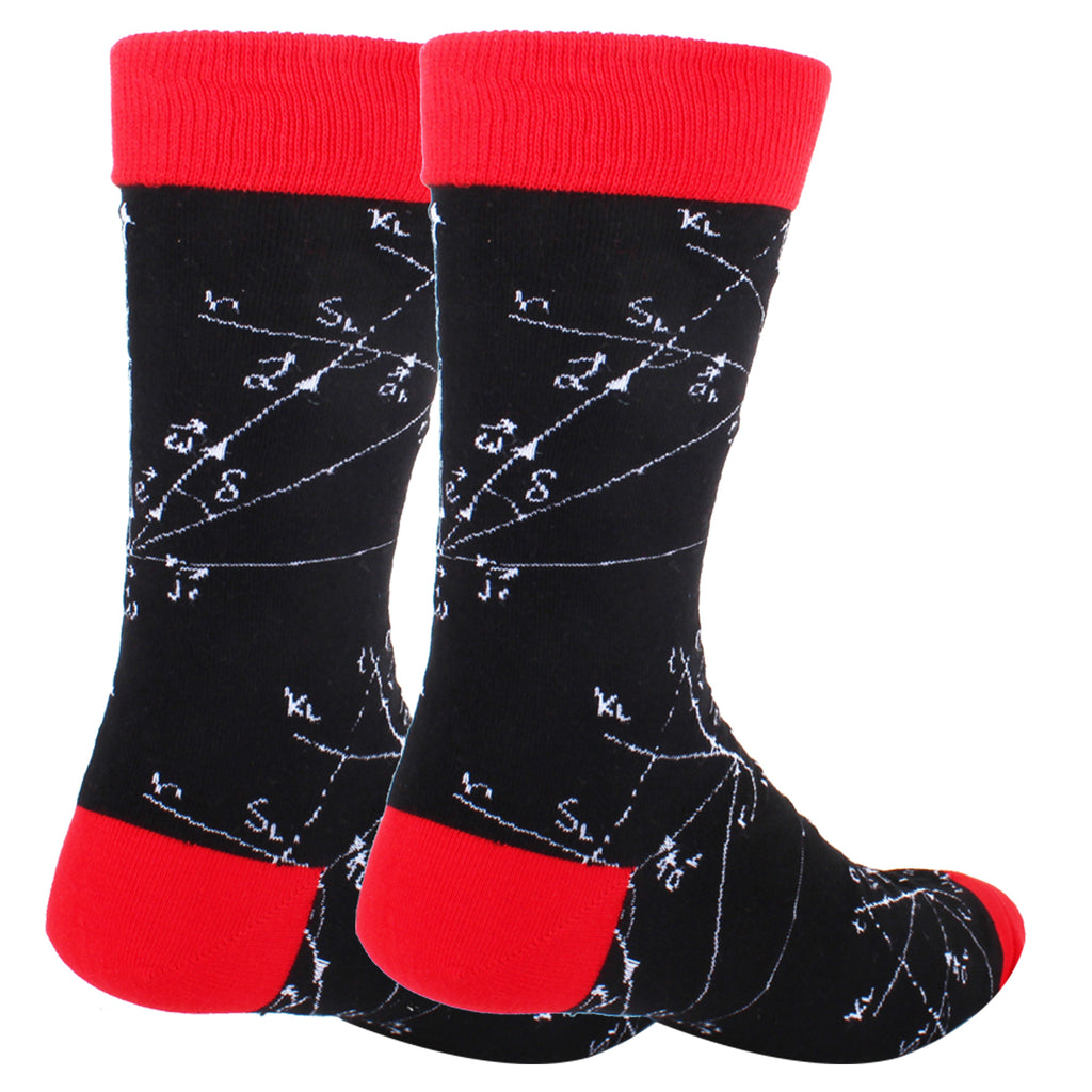 Math Formula Socks - Happypop