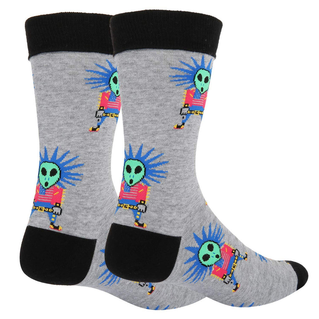 Rock Alien Socks - Happypop