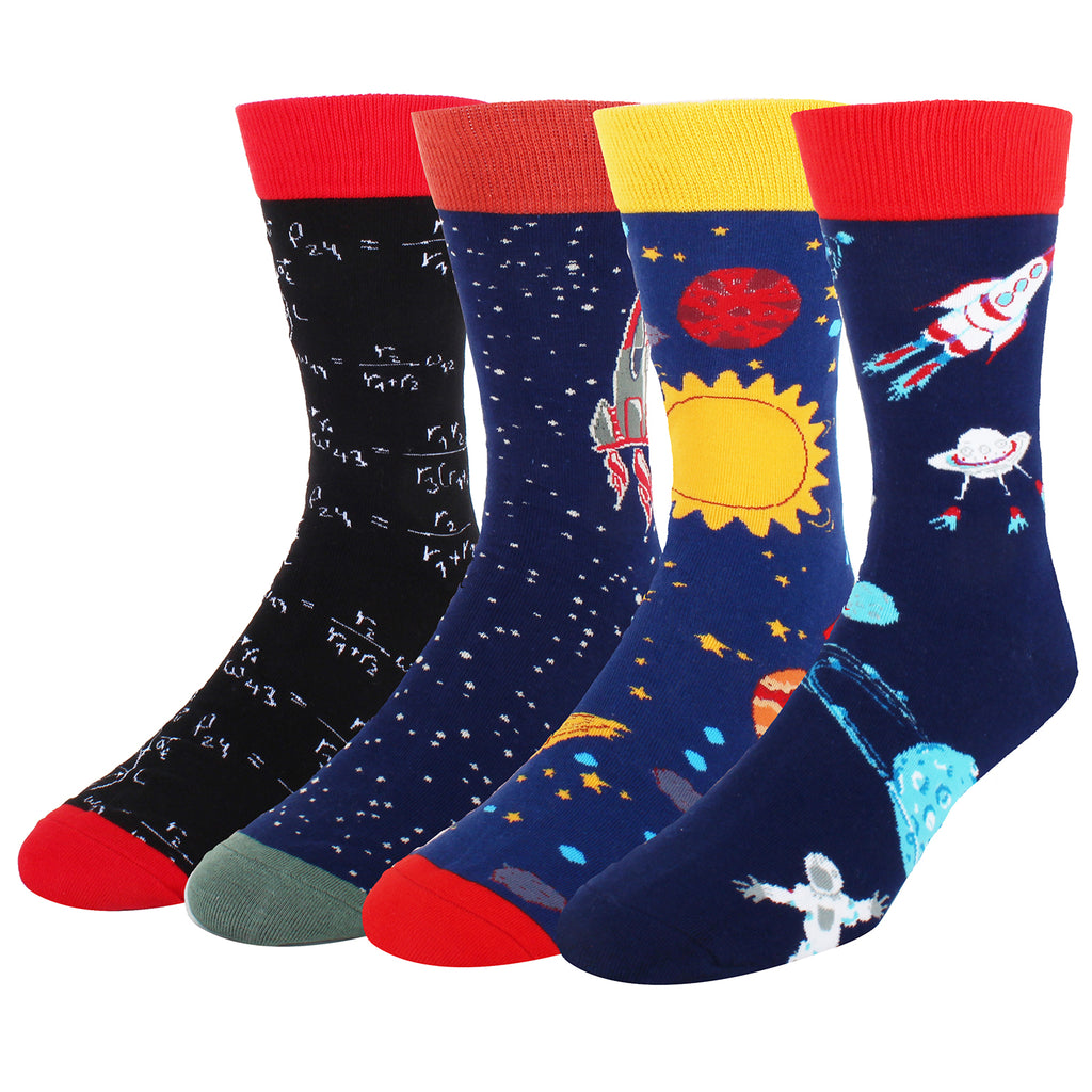 Outer Space Socks Gift Box - Happypop