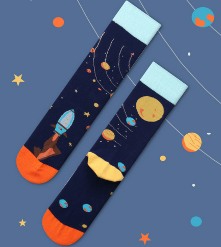 Space Socks Gift Box