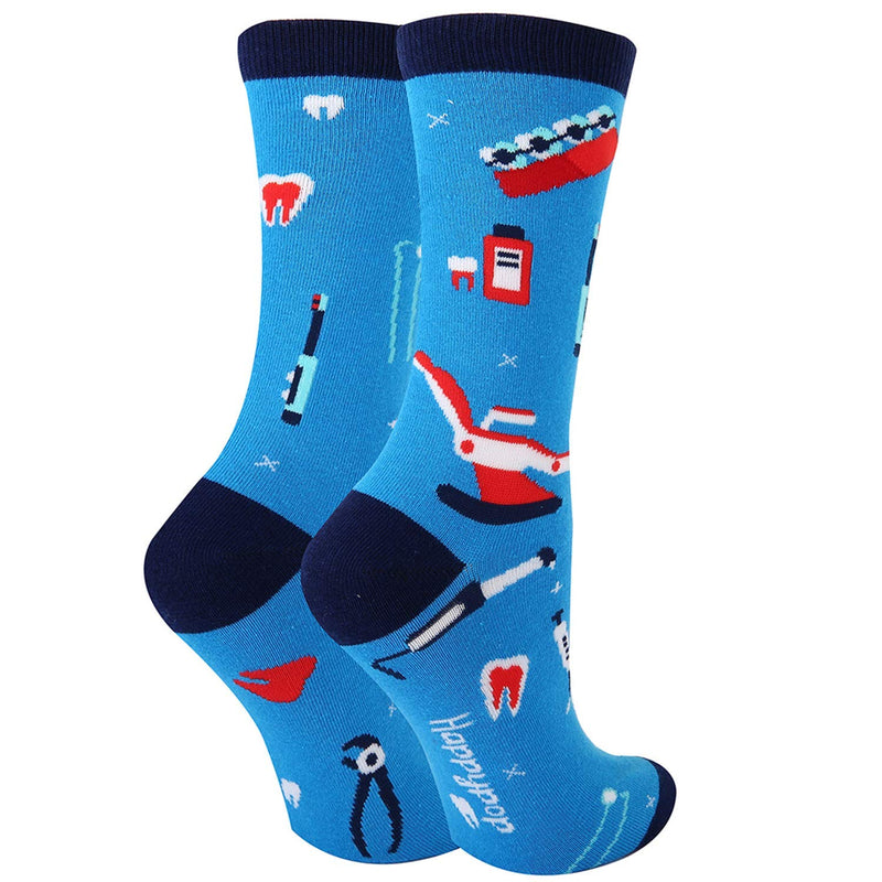 Teeth Tool Socks - Happypop
