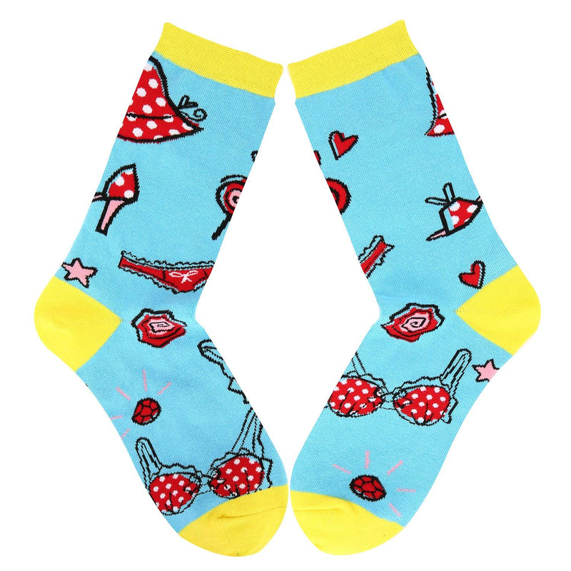 Women Make Up Socks - Happypop