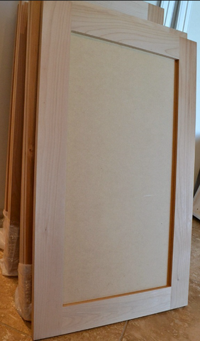 ... Wood Or Plywood. This Property Makes MDF An Excellent Material For  Cosmetic Surfaces  And You Can Find MDF On The Discount Cabinet Shopu0027s Door  Panels.