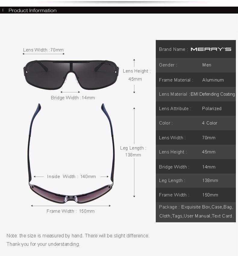 099316e52e1af MERRY S DESIGN Men s Classic Aviation Polarized Driving Sunglasses ...