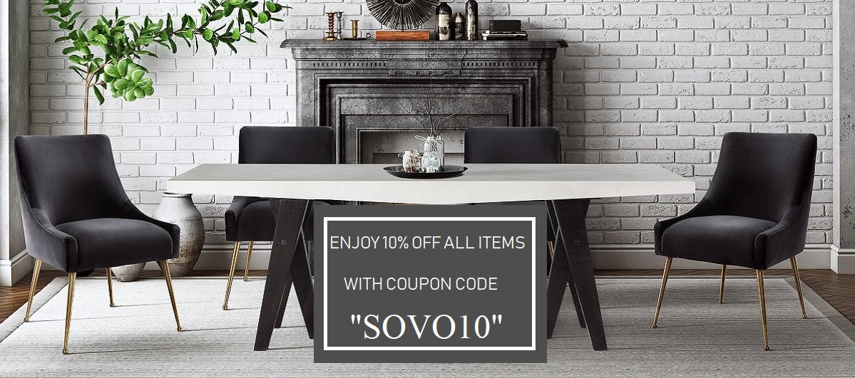 Sovo | Shop luxurious styles for Living room, Dining room ...