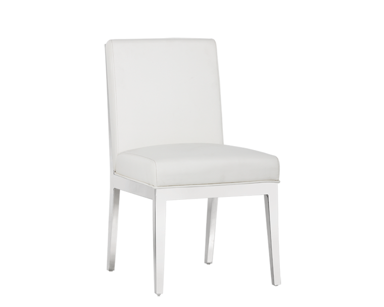 Yves Dining Chair White