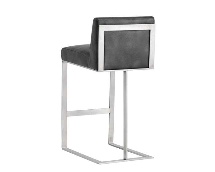tearly-barstool-stainless-steel-grey