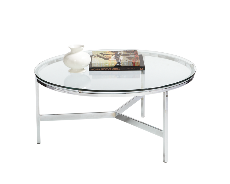 QUINLAN ROUND COFFEE TABLE