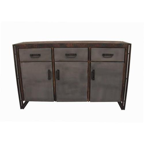 Abran 3-Door 3-Drawer Buffet