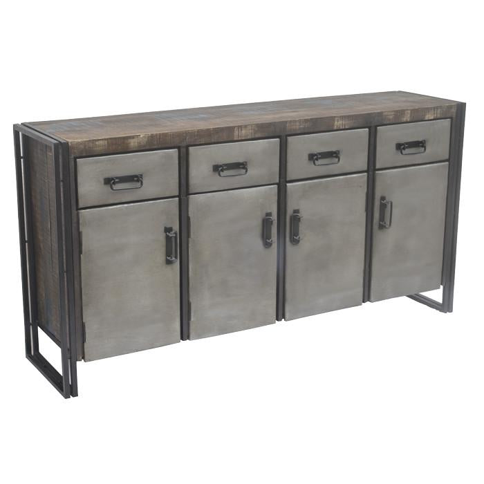 Abran 4 Drawer, 4 Door Buffet