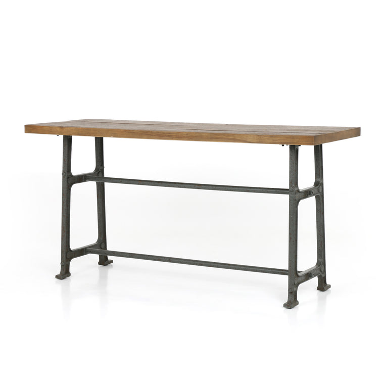 MONOCO COUNTER TABLE-BLEACHED OAK