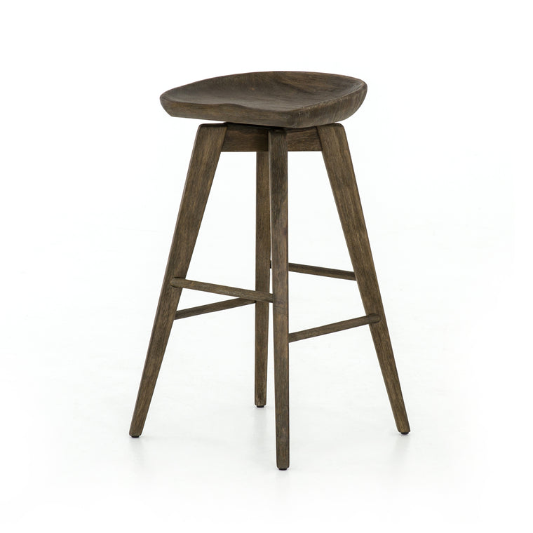 AUBURN SWIVEL BAR STOOL