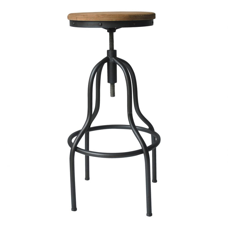 Woodrow Stool Natural