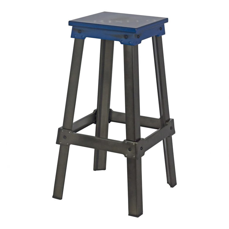 Loreen Bistro Bar Stool Blue